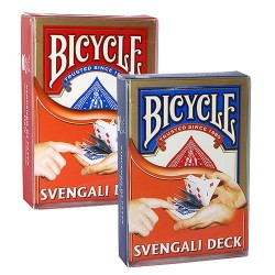 Bicycle Svengali Blue and Red